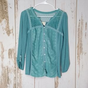 Anthropologies Meadow Rue blouse